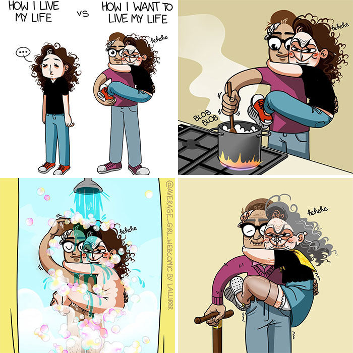 30 Funny Comics By An Italian Artist Sum Up The Everyday Life Of An Average Girl (New Pics)