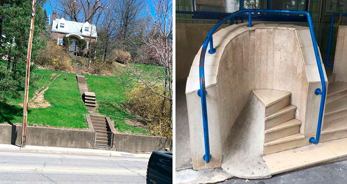 45 Epic Stair Design Fails That May Result In Some Serious Injuries (New Pics)