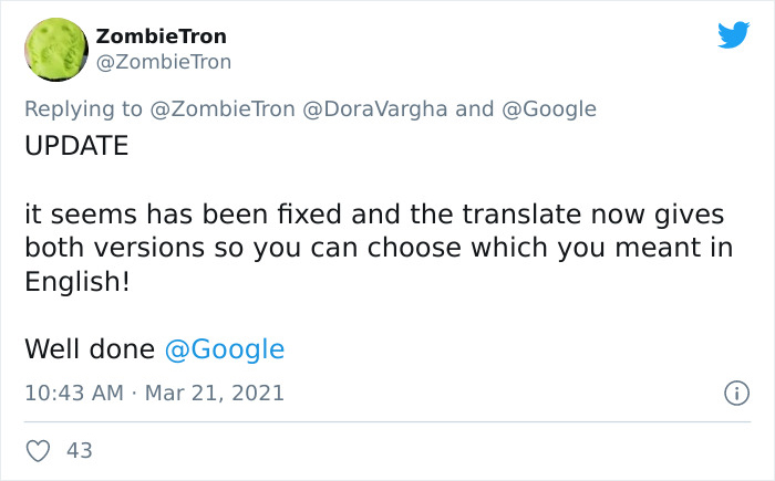 """People Tested How Google Translates From Gender Neutral Languages And Shared The """"Sexist"""" Results"""