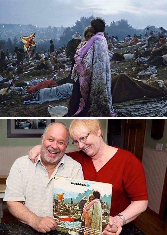 The Couple On The Woodstock Album Cover, Still Together 50 Years Later