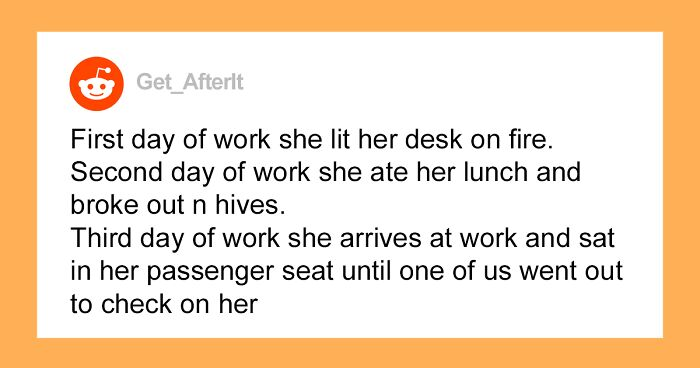 30 Stories Of Coworkers From Hell People Had The 'Pleasure' Of Working With