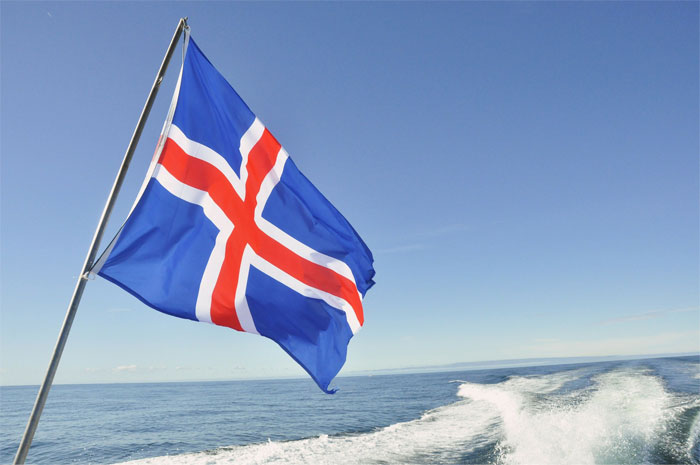 The Colors Of Iceland's Flag Symbolize The Three Elements Of The Country's Landscape
