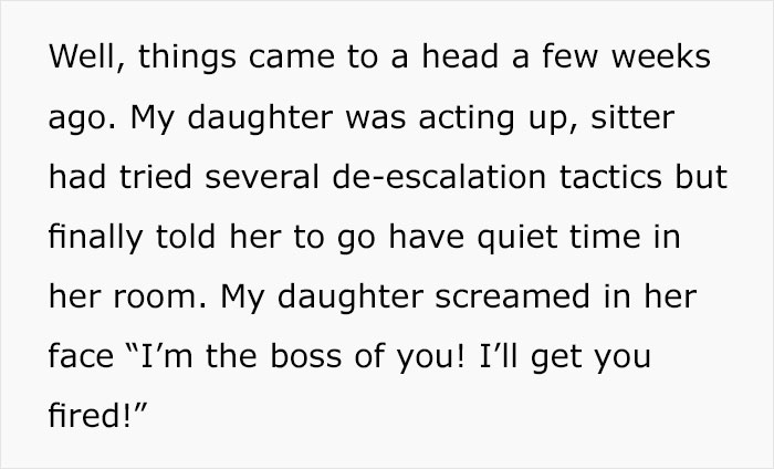 People Think This Mom Did A Great Job By Punishing Her 'Bratty' Daughter After She Made Her Babysitter Quit