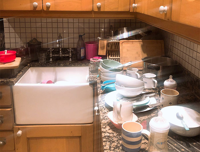 Woman Stops Doing Chores, Sees How Long Her Family Will Last Until They Do It Themselves