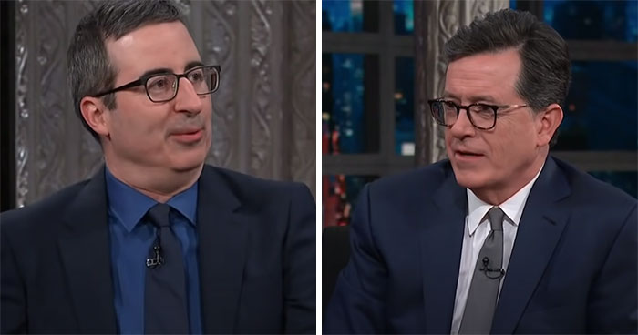 After Oprah Interview, John Oliver's 2018 Comments On Meghan Markle Joining The Royal Family Go Viral
