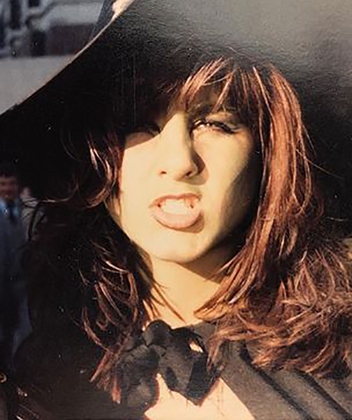 Jennifer Aniston Dressed As A Witch For Halloween In Circa 1986