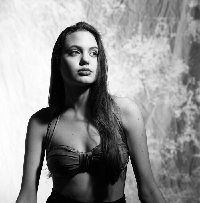 16-Year-Old Angelina Jolie In Circa 1991