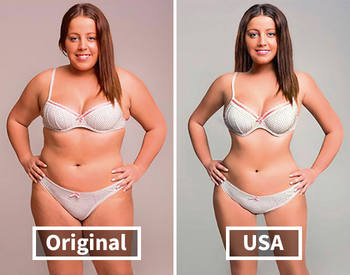 Designers From 18 Countries Were Asked To Edit A Picture To Reflect Their Countries' Beauty Standards And Here Are The Results