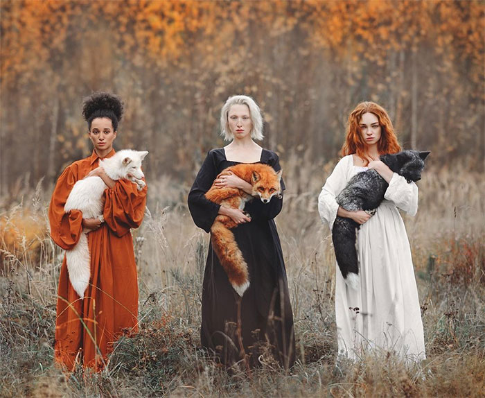 The Incredible Bond Between Animals And People In The Magical Photography Of Anastasiya Dobrovolskaya (40 Pics)