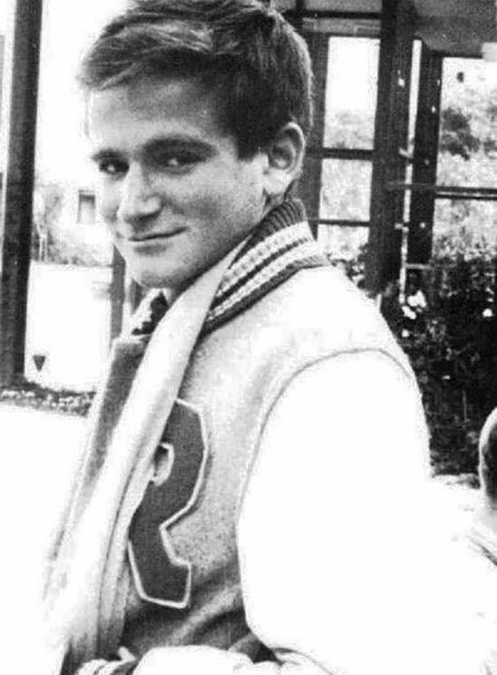 18-Year-Old Robin Williams In His Senior Year Of High School In 1969