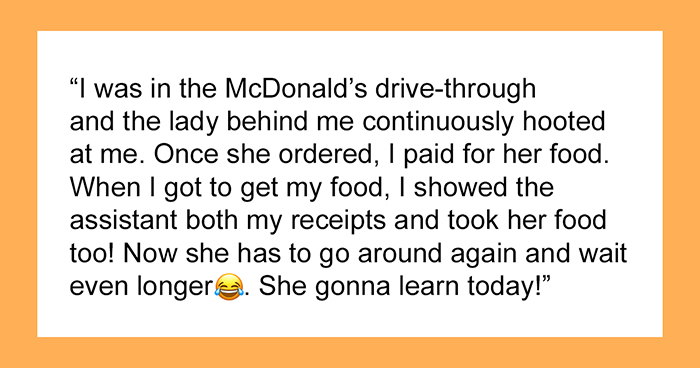 Man's Supposed 'Petty' Revenge On A Rude Karen At A Drive-Through Goes Viral