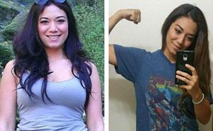 30 Fotos inspiradoras de personas que pesan lo mismo pero tienen un aspecto totalmente distinto