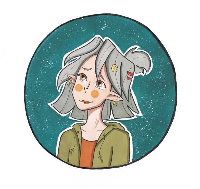 Draw This In Your Style (Orginal Pic By @sophiescribble)