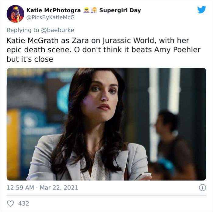 Zara Young, Portrayed By Katie Mcgrath, In Jurassic World (2015)