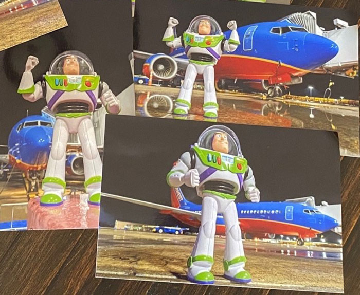 Airline Returns 2-Year-Old's Lost Buzz Lightyear With Photos And Letter From His Special Mission 14