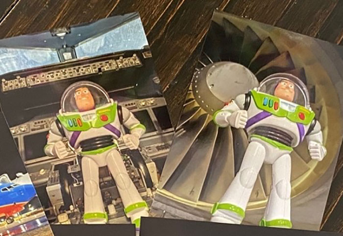 Airline Returns 2-Year-Old's Lost Buzz Lightyear With Photos And Letter From His Special Mission 15
