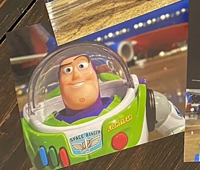 Airline Returns 2-Year-Old's Lost Buzz Lightyear With Photos And Letter From His Special Mission 16