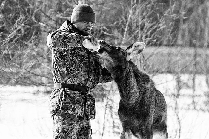 I Capture The Life Of A Lone Former Soldier Saving Animals From Poachers