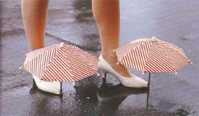 Umbrellas For Shoes