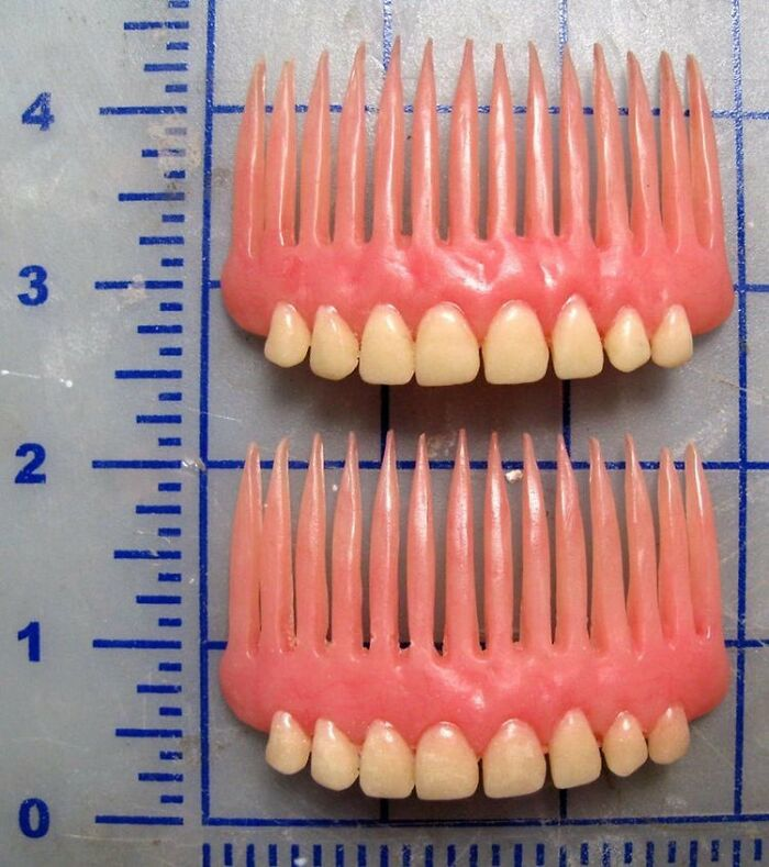 Dentures Hair Combs
