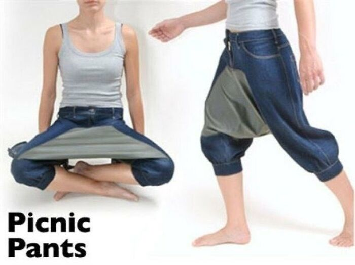 """Have A Picnic Anywhere. Picnic Pants"""