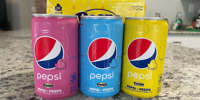 Peeps Flavored Pepsi