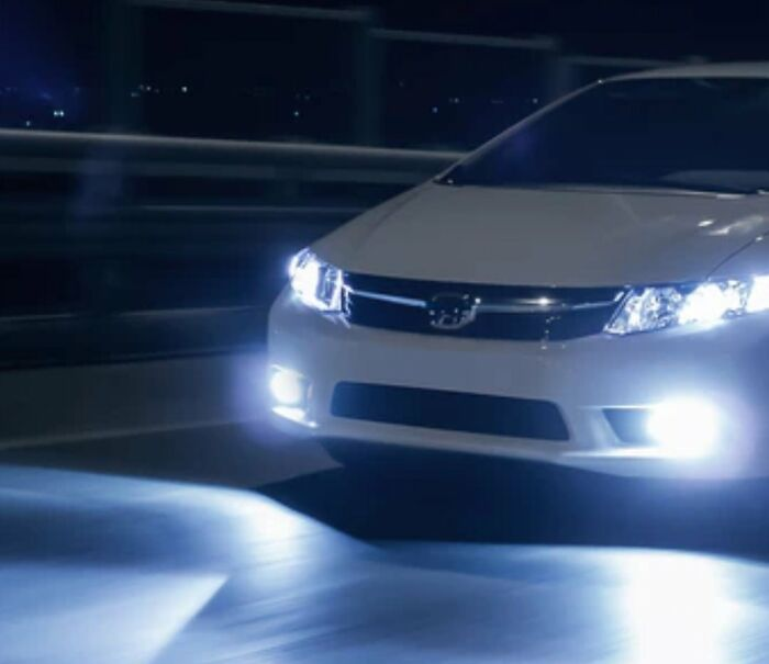 """LED Headlights Are Basically Brights. Talk About Being Blinded By The Lights..."""