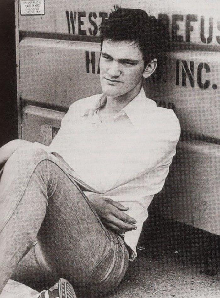 Quentin Tarantino In 1983