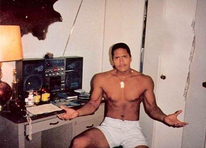 15-Year-Old Dwayne Johnson Circa 1987