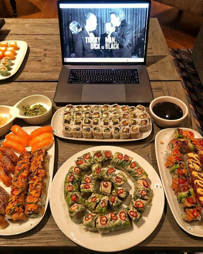 One Of The Rock's Favourite Cheat Meals Is Sushi