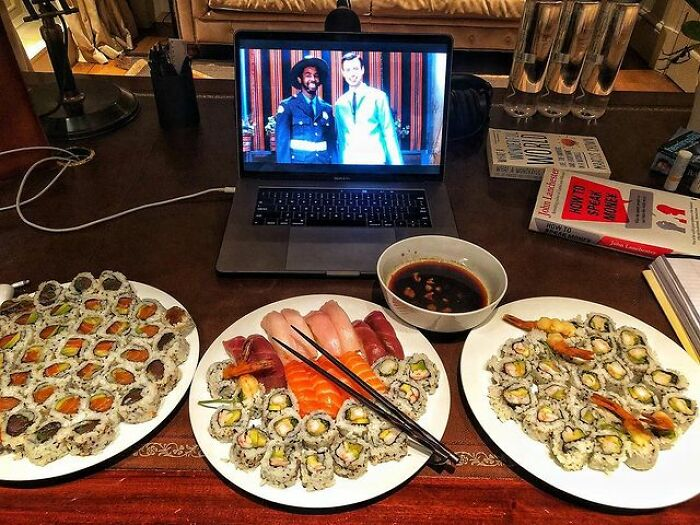 Bringing Gluttony To A New Level With Sushi