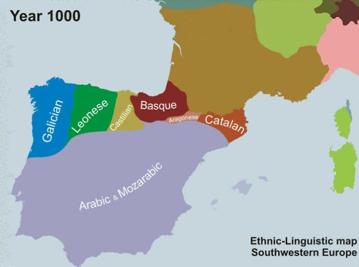 Til Basque (A Language Spoken Near The Spain/France Border) Is A Language Isolate; Not Only Is It Not A Romance Language, It's Not Even An Indo-European Language. It Is The Only Surviving Pre-Indo-European Language In Western Europe.