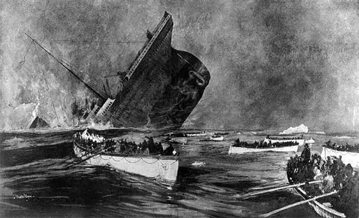 Til That During The Sinking Of The Rms Titanic, Many Passengers Refused To Evacuate, Insisting They Were Safer On The Ship Than In The Tiny Lifeboats. Chief Baker Charles Joughin Eventually Took It Upon Himself To Forcibly Drag Reluctant Passengers Onto The Deck And Hurl Them Into The Lifeboats