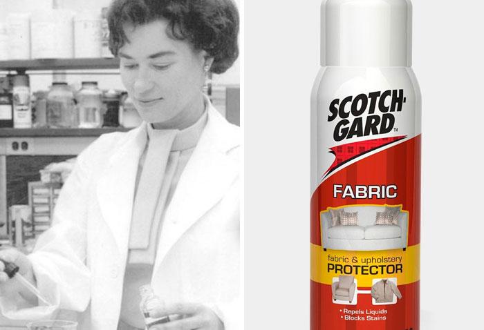Patsy Sherman Co-Invented Scotchgard