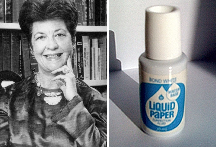 Bette Nesmith Graham Invented Liquid Paper