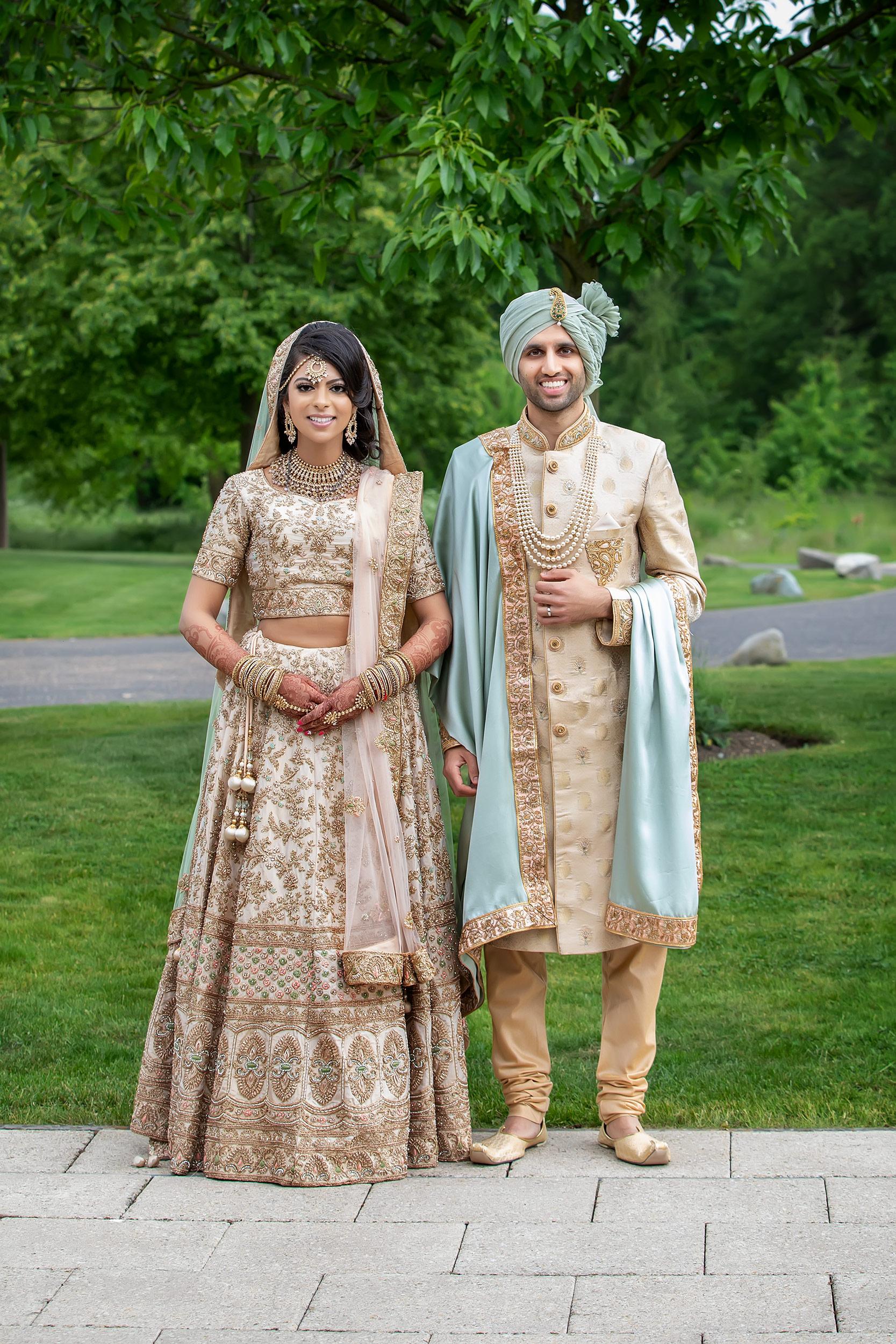 Aneeka And Jaisal Celebrate Their Gujarati Hindu Wedding At Hilton Syon Park