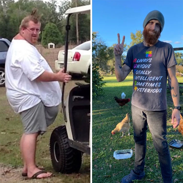 Two Different Doctors Once Told Me I Wouldn't Live To See My 40th. I Was 500 Pounds At The Time. Today Is My 40th. During That Time I Lost 350lbs & Learned My Son's HfASD