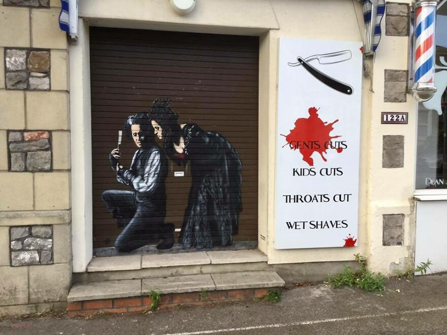 Artist Sees In His Street Art A Way To Get Away From Crimes And Drugs