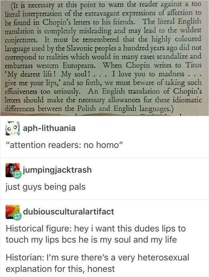 Yes, Very Heterosexual Indeed.