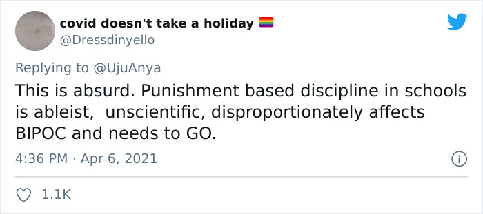 Mom's Twitter Thread About Her 4th Grader Being Assigned Zoom Detention Goes Viral