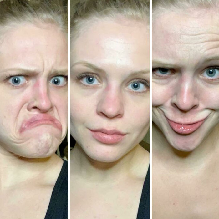 My Monday, Wednesday, And Friday Face