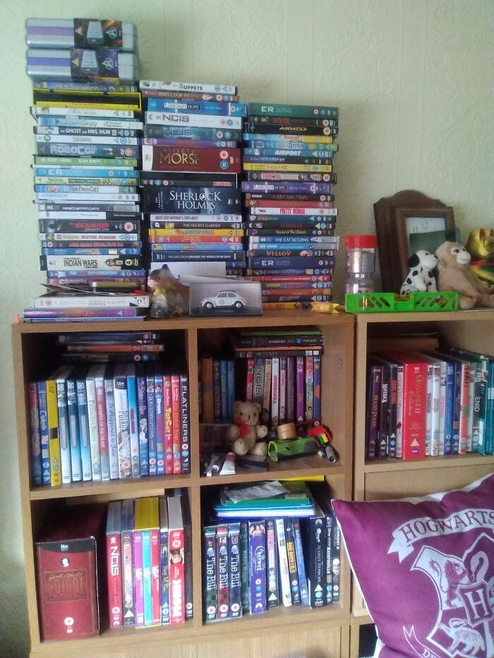 This Is Some Of My Huge Collection Of Dvds