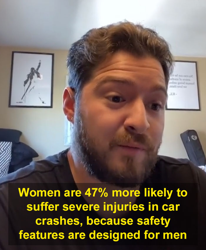 A Video Of A Man Sharing Some Hard-To-Believe Statistics Showing How The World Is Unfair To Women Goes Viral With 2.4M Likes