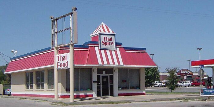 KFC Converted To Thai Restaurant