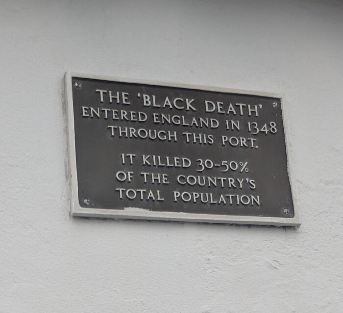 My Hometown Really Wanted To Put Up A Historical Plaque But Struggled To Find A Noteworthy Event To Celebrate.