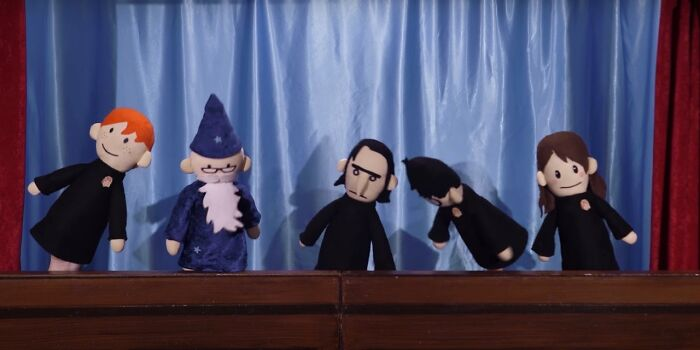The Potter Puppet Pals... I Think This Counts? Idk If They Posted That Year But E