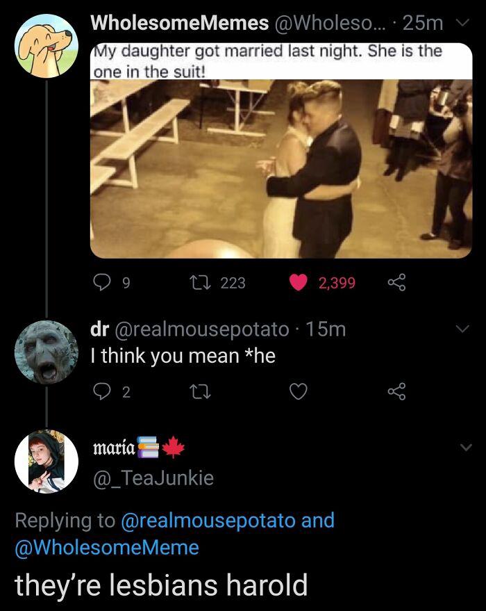 They Are Lesbians Goddammit