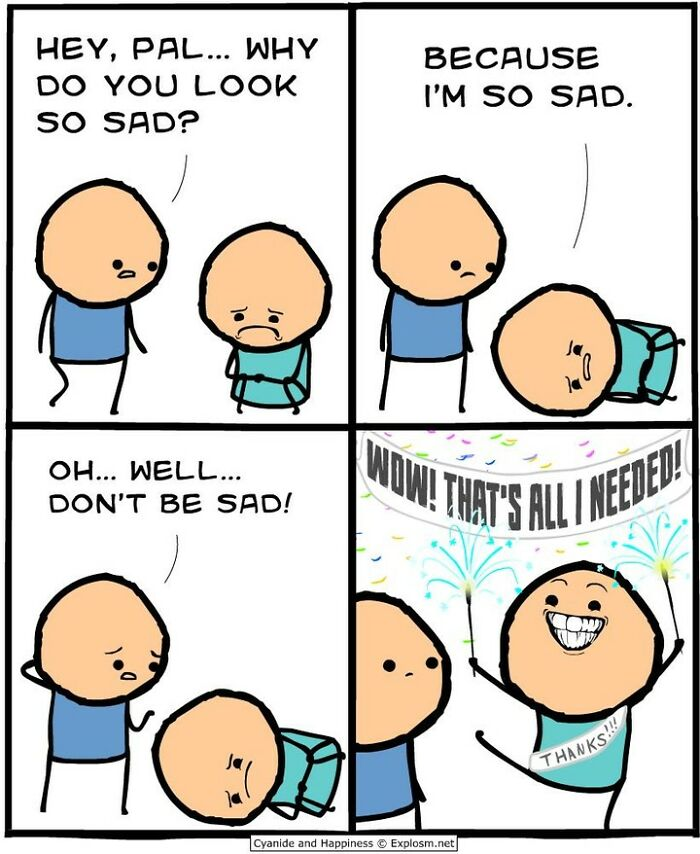 95 New Hilarious Comics For People Who Like Dark Humor By Cyanide & Happiness
