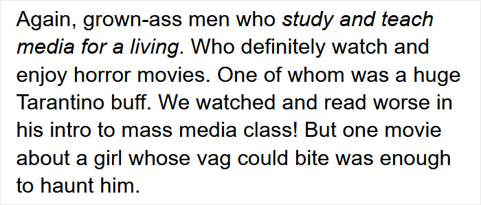 Someone Pointed Out The Absurdity Of Men Being Disturbed By Female On Male Violence In Media