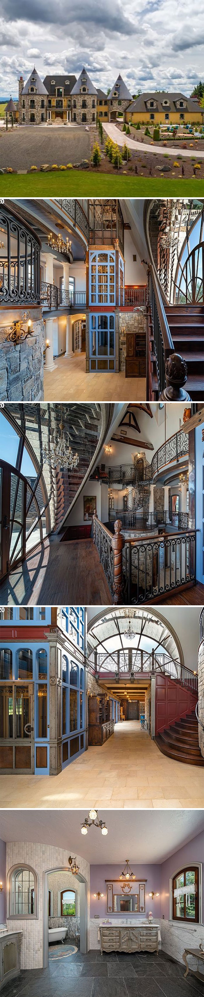 I Don't Know What's Happening Here West Linn, Or $5,750,000 10 Bd, 12 Ba 13,023 Sf